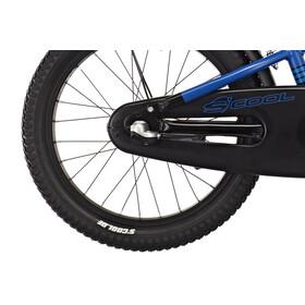 s'cool XXlite 18 3-S Rower dziecięcy  alloy niebieski